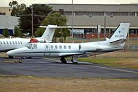 VH-FGK @ YMEN - Cessna Citation Bravo [550-0852] Melbourne-Essendon~VH 20/03/2007