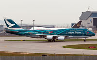 B-HOY @ VHHH - Cathay Pacific - by Wong C Lam