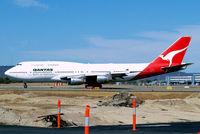 VH-EBV @ YPPH - Boeing 747-338 [23224] (QANTAS) Perth Int'l~VH 29/03/2007 - by Ray Barber