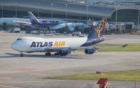 N419MC @ MIA - Atlas 747-400