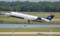 N422AW @ DTW - US Airways CRJ-200