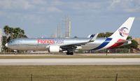 N422LA @ MIA - Florida West 767-300F