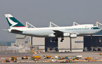 B-HVY @ VHHH - Cathay Pacific Cargo - by Wong Chi Lam