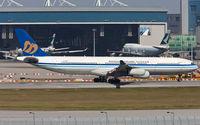 B-18851 @ VHHH - Mandarin Airlines - by Wong Chi Lam