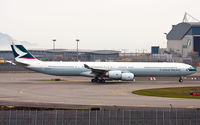 B-HQC @ VHHH - Cathay Pacific - by Wong Chi Lam