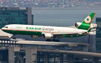 B-16113 @ VHHH - EVA Airways Cargo - by Wong Chi Lam