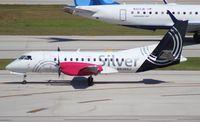 N436XJ @ FLL - Silver Airways Saab 340B