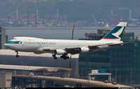 B-HME @ VHHH - Cathay Pacific Cargo - by Wong Chi Lam