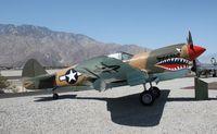 N999CD @ KPSP - Curtiss P-40N