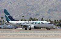 C-GWSQ @ KPSP - Boeing 737-700 - by Mark Pasqualino