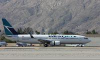C-GWSX @ KPSP - Boeing 737-800 - by Mark Pasqualino