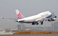 B-18215 @ VHHH - China Airlines - by Wong Chi Lam