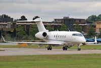 N300GP @ EGLF - Lining up to depart - by John Coates