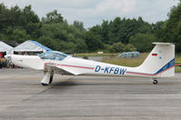 D-KFBW @ EBUL - Open Door at Ursel  30-6-2013 - by Raymond De Clercq