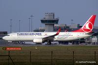 TC-JHK @ EGCC - Departure 23R EGCC - by Jay Shaw
