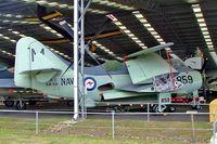 XA331 @ YCDR - Fairey Gannet AS.1 [F.9223] (Royal Australian Navy) Caloundra~VH 19/03/2007