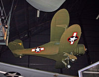 44-76068 @ DWF - The UC-43 Traveler was the World War II Army transport version of the venerable Beech Staggerwing. - by Daniel L. Berek