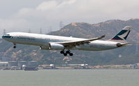 B-HLI @ VHHH - Cathay Pacific - by Wong Chi Lam