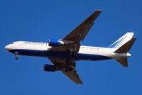 EI-DBW @ EGLL - Boeing 767-201ER [23899] (Transaero Airlines) Home~G 05/03/2010. On approach 27R.