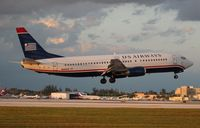 N440US @ MIA - US Airways 737-400
