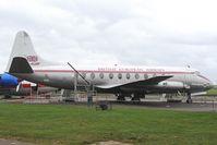 G-ALWF @ EGSU - BEA Vickers Viscount
