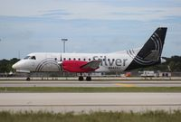 N442XJ @ FLL - Silver Airways Saab 340B
