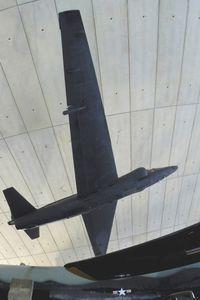 56-6692 @ EGSU - USAF Lockheed U2