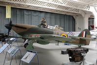 Z2315 @ EGSU - RAF Haker Hurricana