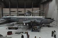 XF708 @ EGSU - RAF Shackelton