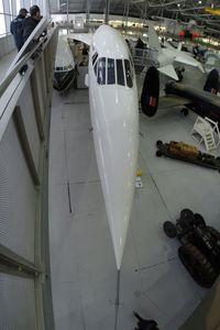 G-AXDN @ EGSU - Concorde