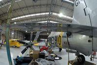G-CHFP @ EGSU - Sea Fury RAF