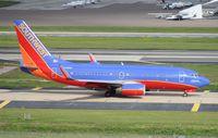 N448WN @ TPA - Southwest 737-700 - by Florida Metal