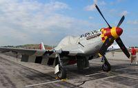 N451MG @ YIP - P-51D Old Crow