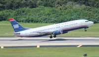 N452UW @ TPA - US Airways 737-400