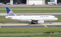 N454UA @ TPA - United A320