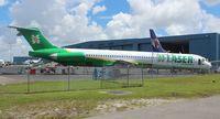 YV2945 @ OPF - Laser MD-82 (Venezuela) former American Airlines N459AA