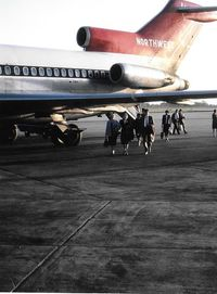 N463US @ DTW - Northwest 727-51 taken by my grandfather Louis Dzialo in the early 70s