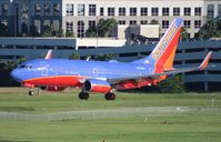 N466WN @ TPA - Southwest 737-700