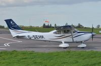 G-SEHK @ EGSH - About to depart. - by Graham Reeve