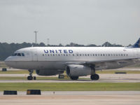N849UA @ IAH - Taxiing to gate @ IAH - by Arthur Tanyel
