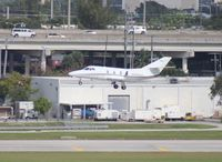 N485AS @ FLL - Falcon 10