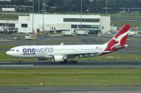 VH-EBV @ YSSY - 2012 Airbus A330-202, c/n: 1365 at Sydney