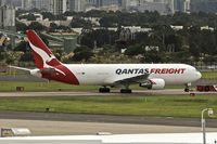 VH-EFR @ YSSY - Qantas Freighter -2006 Boeing 767-381F, c/n: 33510 at Sydney