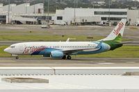 YJ-AV1 @ YSSY - YJ-AV1 (Spirit of Vanuatu), 2007 Boeing 737-8Q8, c/n: 30734 at Sydney