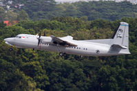 712 @ WSSS - Singapore Air Force Fokker 50 departing Singapore Changi - by mt334