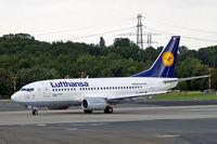 D-ABIK @ EDDL - Boeing 737-530 [24823] (Lufthansa) Dusseldorf~D 18/06/2011 - by Ray Barber