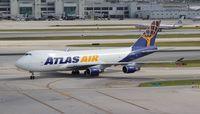 N496MC @ MIA - Atlas 747-400