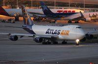 N497MC @ MIA - Atlas 747-400F