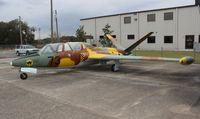 N504DM @ ISM - Fouga CM 170R Magister