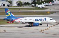 N504NK @ FLL - Spirit A319